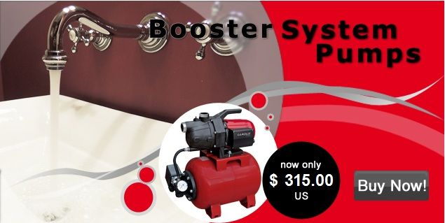 Booster System Pumps ECOMATIC 110